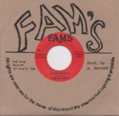 Wailers - Guided Missile / Work (Fams / Dub Store Records) JPN 7""
